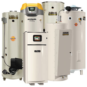 Cupertino plumbing includes installation and service of every major water heater